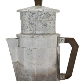 Antica caffettiera filtro francese