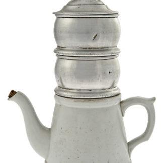 Caffettiera filtro francese in ceramica e alluminio