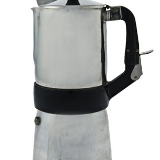 Caffettiera inox con cuccuma removibile