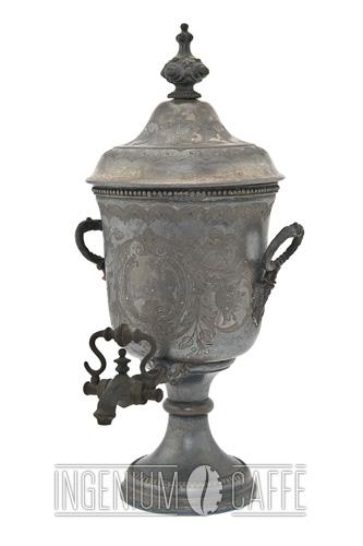 Caffettiera Loysel - silver plate