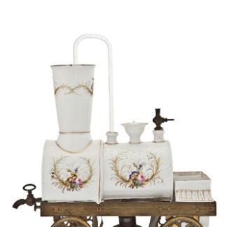 Cafetière locomotive Toselli