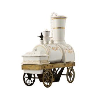 Cafetière locomotive Toselli - 3/4