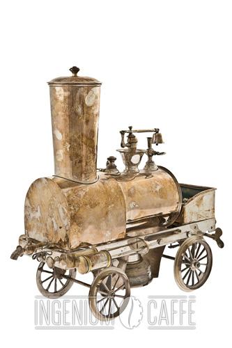 Cafetière locomotive A. Demazy