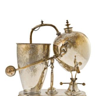 Caffettiera Balance - silver plate