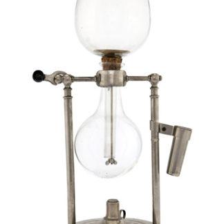 Caffettiera a globi di vetro