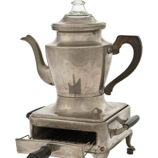 Perc-o-Toaster – Armstrong coffee maker