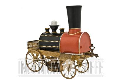 Cafetière locomotive – Toselli - 3/4