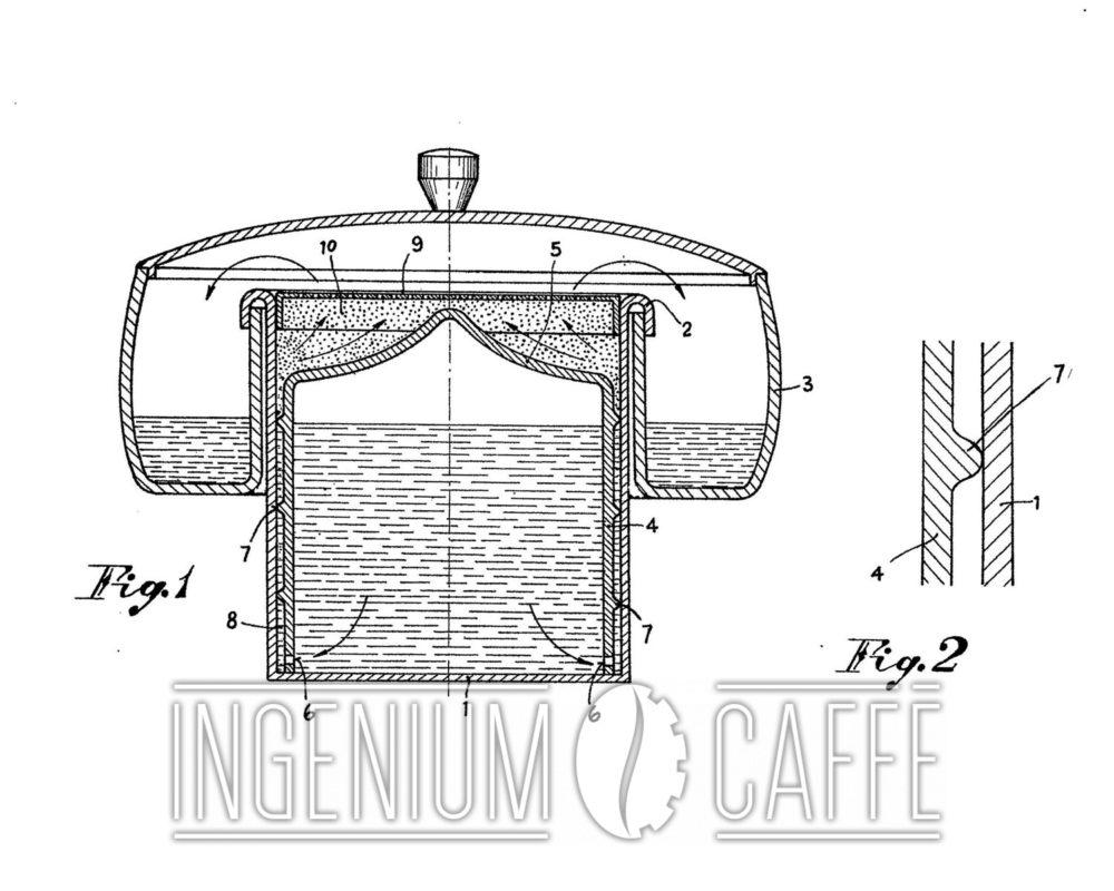 Kicca brevetto Italia