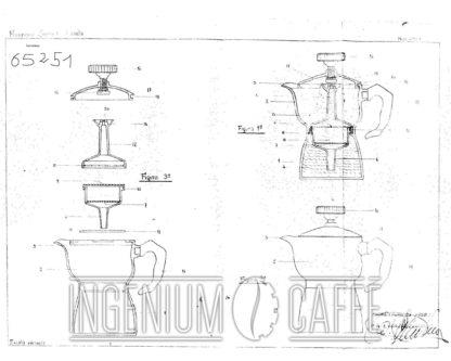 Caffexpress simil - brevetto Spagna 1958
