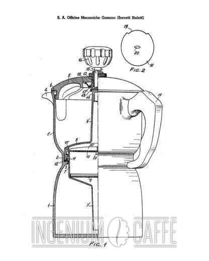 Caffexpress - brevetto Francia