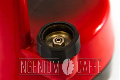 Caffettiera Ambrogina - tappo con valvola