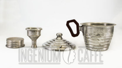 Caffettiera Lampo - parti