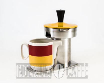 Caffettiera Kicca gialla