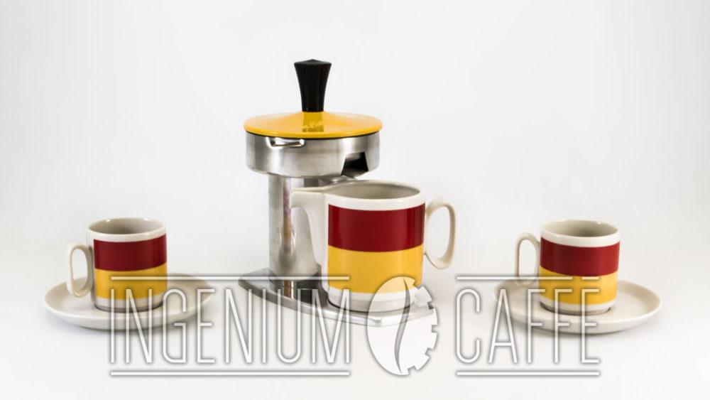Kicca - caffettiera con tazze