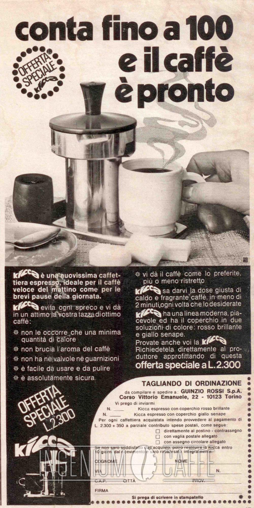 Kicca - pubblicità italia