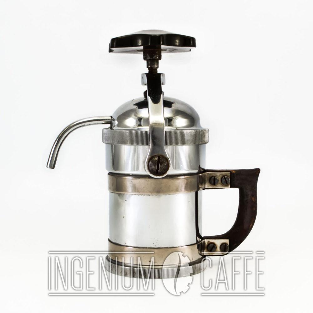 Caffettiera ungherese – profilo sinistro