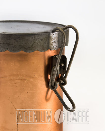 Caffettiera da fiamma - chiusura