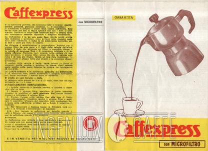 CAFFEXPRESS con micofiltro - Pubblicità