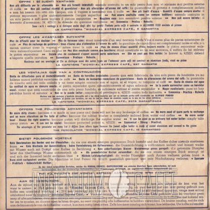 Mondial Express - istruzioni originali