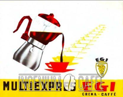Caffettiera Egi - pubblicità