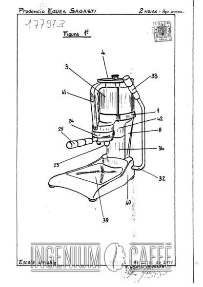 Conti Comocafé - brevetto Spagna