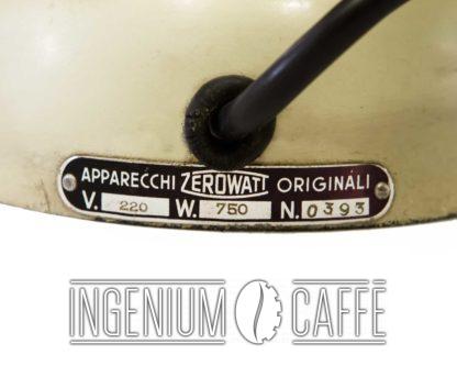 Zerowatt CA 705 - targa