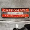Macchina da caffè Caffomatic – targhetta