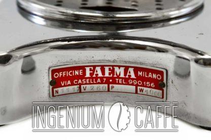 Faemina Faema - targhetta