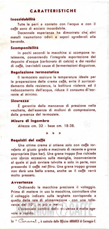VAM Caravel Arrarex - caratteristiche tecniche