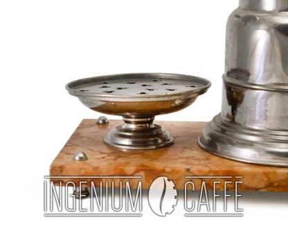 Macchina da caffè Massocco - dettaglio piatto poggiatazze