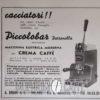 Piccolobar Petronilla - pubblicità