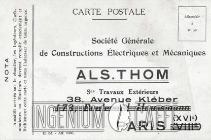 Als-Thom - carte postale