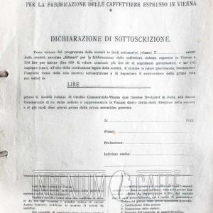 EDMARI – dichiarazione di sottoscrizione