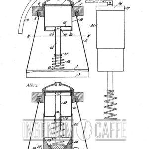 EDMARI – brevetto di caffettiera con macinacaffè