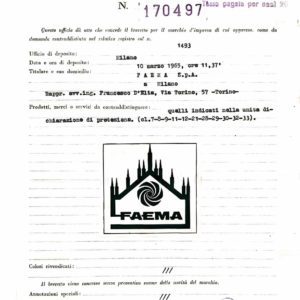 FAEMA - Marchio