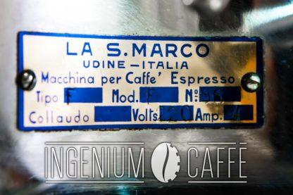 La San Marco - targa