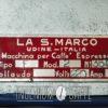 La San Marco – quarta serie - targhetta