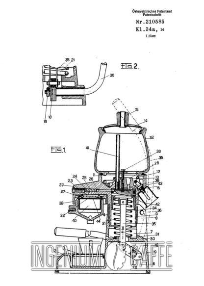 La Peppina Fe-Ar - Prima serie - brevetto Austria