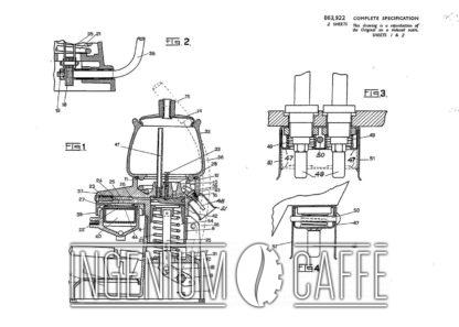 La Peppina Fe-Ar - Prima serie - brevetto Gran Bretagna